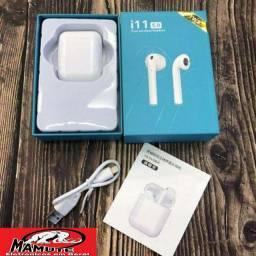 Fone sem fio i11 - Bluetooth