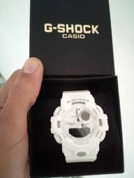 "Relógio Casio G-Shock ""Step Tracker"" Ponteiro Automático"