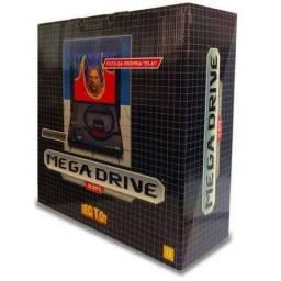 Console Mega Drive Tec Toy, Zero, Lacrado, 1 Controle, 22 Jogos na Memória