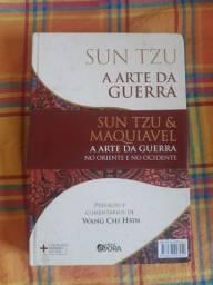 Livro Arte da Guerra Sun Tzu e Maquiavel