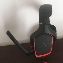 Fone De Ouvido Gamer Logitech G230