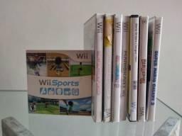 8 Jogos de Wii Originais