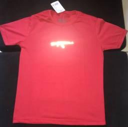 Camisas Refletiva na promoção