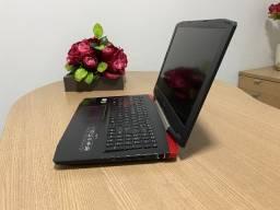 """Notebook Acer i7 8Gb 1Tb 15,6"""" FHD Nvidia GeForce GTX (Garantia) (Aceito Cartão)"""