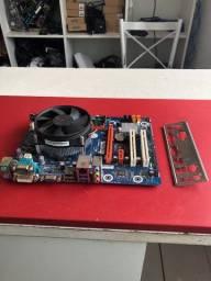 Kit intel core i5 4570 +placa mãe ipmh81 +4gb de memória ddr3