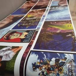 Serviço de impressão com papel fotográfico no metro quadrado 60x100