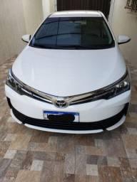 Corolla 1.8 GLI 2018/2019  único dono, impecável