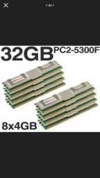 Memória RAM para Servidor 667MHz