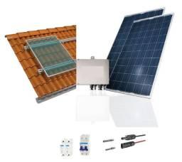 Kit de energia solar (leia a descrição do produto)
