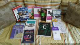 Livros, light novels, HQs e mangás