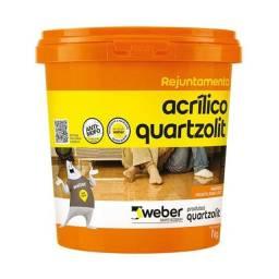 Rejunte acrilico quartzolit marrom cafe