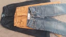 3 calças 2 a 3 anos