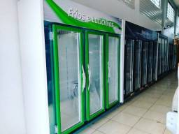 Expositor, Refrigerador Auto Serviço 3 Portas