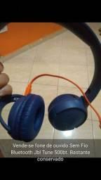 Fone de Ouvido sem fio Bluetooth jbl tune 500bt