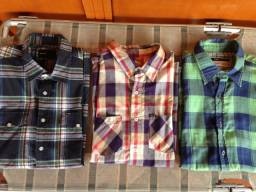 Camisa Xadrez Hurley e Makenji