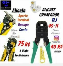 Alicate 3 em 1 Decapante etc / Alicate rj 45 de Rede ( Loja Fisica )