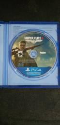 Jogo PS4 sniper elite 4