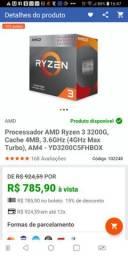 Processador amd Ryzen 3200g com garantia