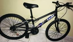 Vendo está linda bicicleta aro 24 ,quase nunca usada