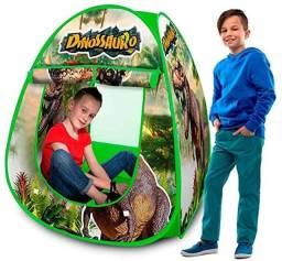 Barraca Toca Infantil Dinossauro Dobravel com Bolsa