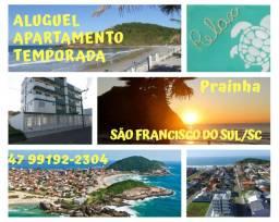 Otimo apartamento  para temporada em Sao Francisco do Sul-SC - Prainha