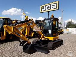 Mini escavadeira jcb 8055 rts 2013 unico dono