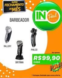 Barbeador Elétrico diversas marcas