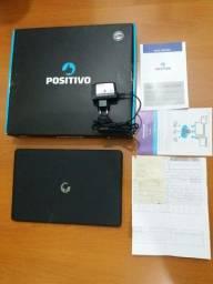 Notebook Positivo Motion Black Q232A Quad Core R$ 780,00 Com Nota Fiscal
