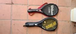 2 raquetes prince
