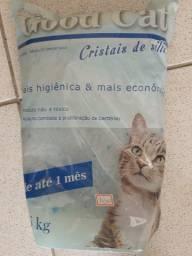 Areia pra gato Sílica 1,6kg 30,00