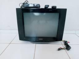 """TV SAMSUNG 27"""" com receptor."""