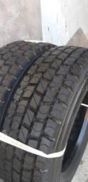 2 pneus 215 / 75 aro 17.5
