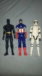 Bonecos Marvel e Star Wars -Hasbro Original?