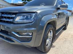 Amarok Highline 2017 revisada na autorizada emplacada 2020 super nova