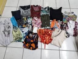 34 peças de roupas