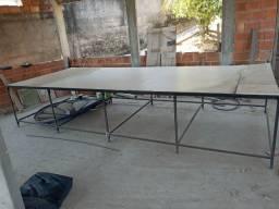 Mesa de corte e uma máquina de 8 polegadas