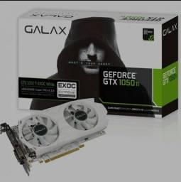 Placa De Vídeo Galax Geforce GTX 1050 Ti EXOC White Dual, 4GB GDDR5, 128Bit