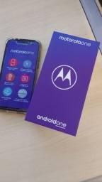Motorola One dual Sim 64gb 4gb ram preto