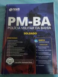 Livro preparatório para concurso da PM-BA