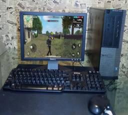 PC Gamer/Computador Home Office - I3-3250/3240 Memória 8GB<br>+ Monitor<br>+ Teclado<br>+ Mouse