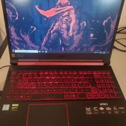 Notebook gamer acer nitro 5  i5 - 16gb ram gtx 1050 impecável