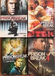DVD Prison Break - 1-2-3-4 Temporadas / 22 Discos