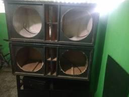 caixa G sub troco por caixa T18 ou SB