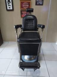 Cadeira de barbeiro antiga!