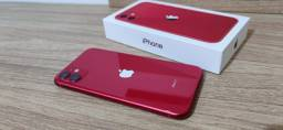 IPhone 11 vermelho 100%