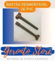 Título do anúncio: Bastão desmontável de PVC