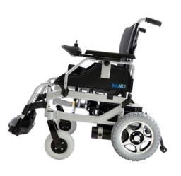 Cadeira de rodas motorizada elétrica dobrável até 120kg