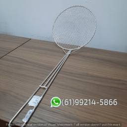 Peneira Escumadeira  P/ Frituras Plug  N°20 Aramfactor