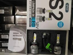 Título do anúncio: Kit Lâmpadas Ultra led 6000k H4 3D