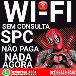 internet com wifi